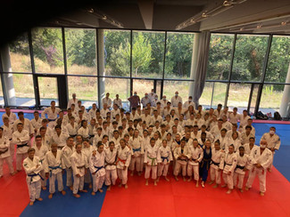 Rentrée au pole espoir Judo