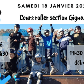 Samedi 18 Janvier RDV à Gignac section Roller