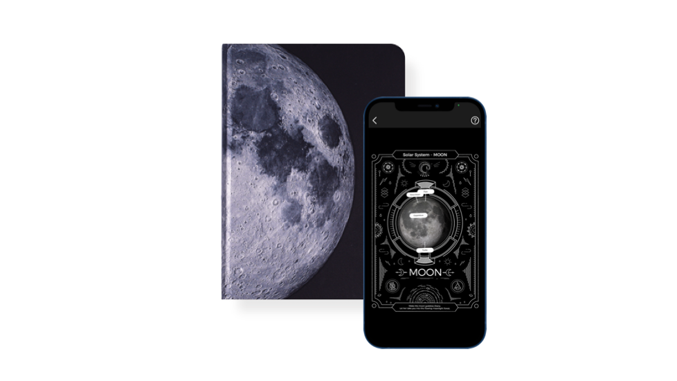 Lunar 月球 AR 筆記本