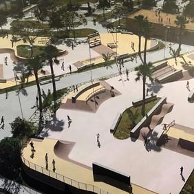 Réhabilitation skatepark de Grammont