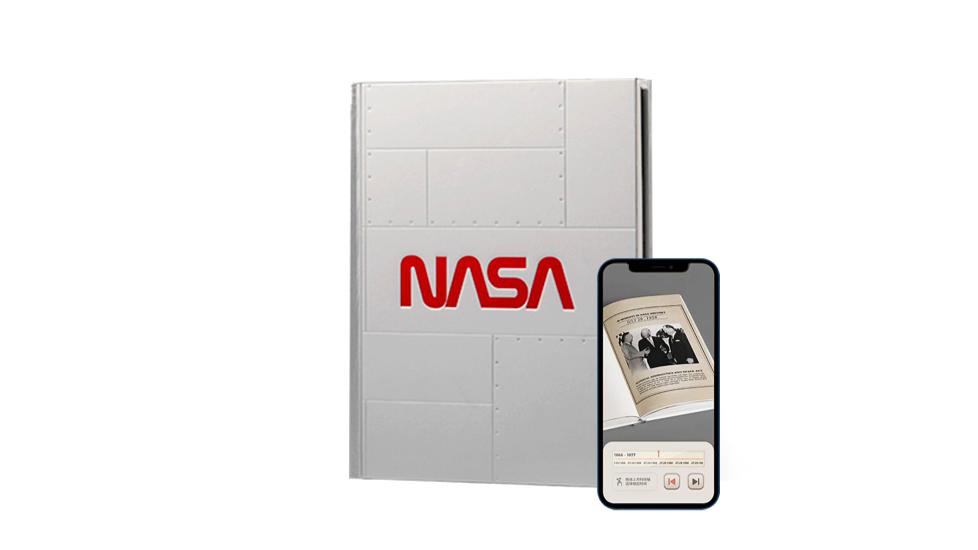 NASA AR Notebook Silver