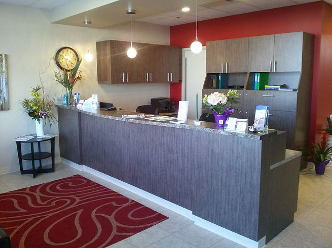 Reception   Freedom Physical Therapy   Edmonton