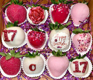 Valentines Birthday Berries