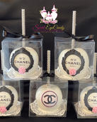 Chanel Inspired Candy Apples