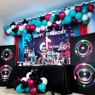 Tik Tok Themed Birthday Party