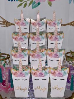 Unicorn Themed Dessert Table