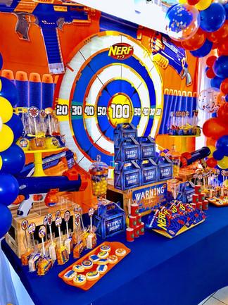Nerf Themed Birthday Party