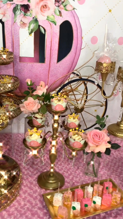 Princess Themed Dessert Table
