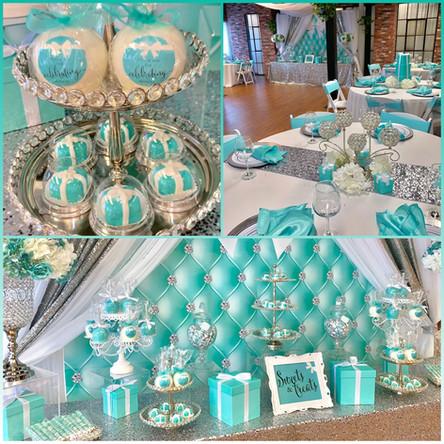 Tiffany & Co inspired Bridal Shower