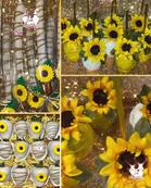 Sunflower Themed Treats