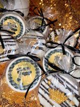 Prince Themed Chocolate Covered Oreos