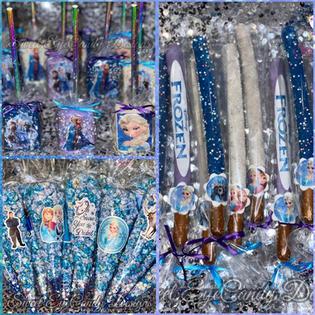 Frozen Themed Treats