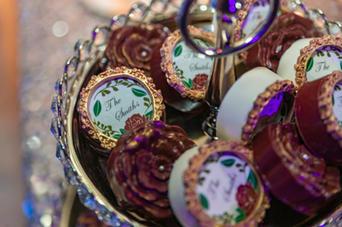 Wedding Chocolate Covered Pretzel Rods
