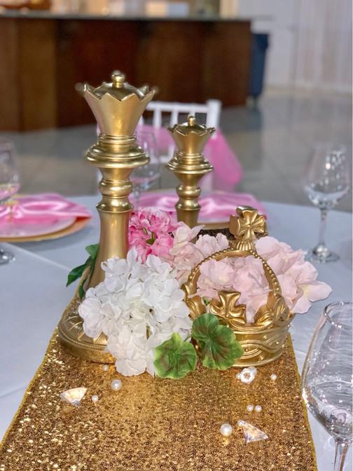 Princess Themed Centerpiece