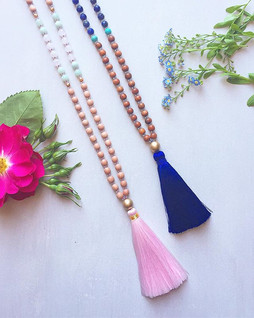 Summer vibes with tassel Malas ☀️