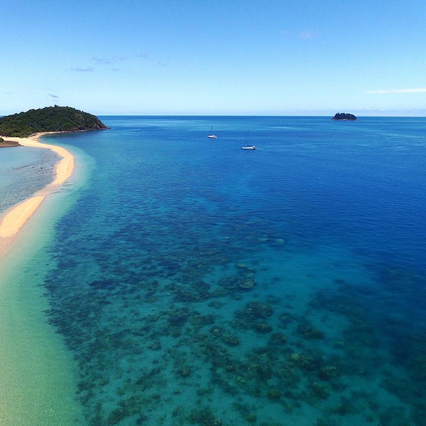 Langford Island aerial photo