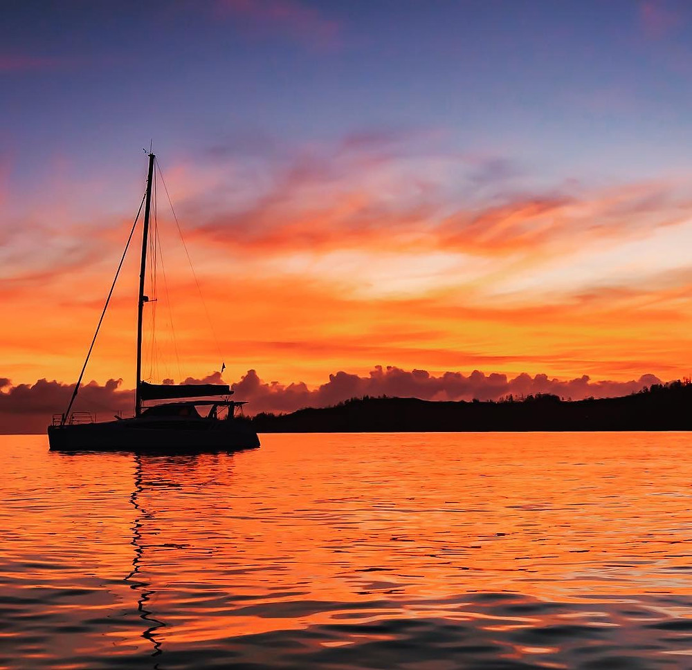 A Whitsunday sunrise