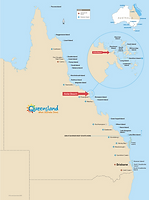 go bareboating. where are the Whitsundays map