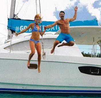 NZ bachelor Art and Matilda go bareboating in the Whitsundays