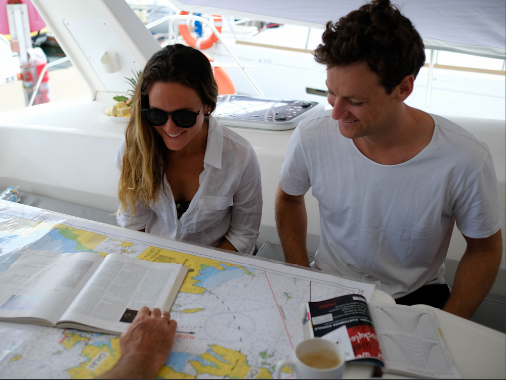 A bareboat briefing