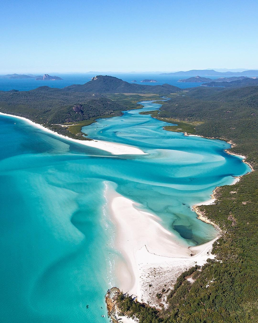 Hill Inlet and Whitehaven Beach