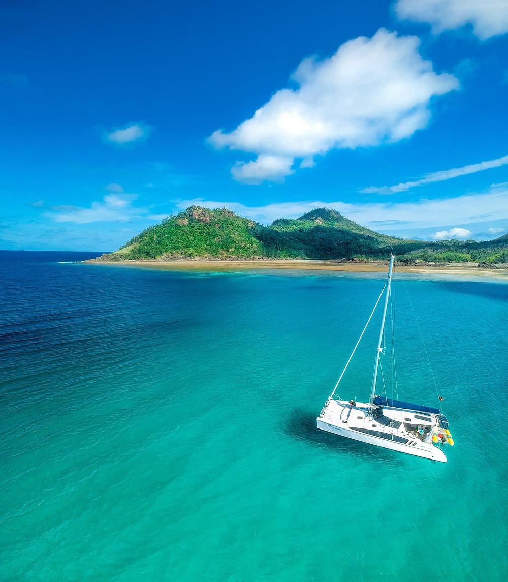 Bareboating in the Whitsundays - Mark Fitz