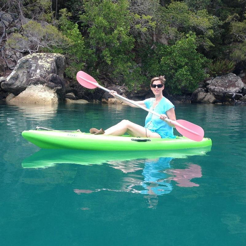 Kayaking in the Whitsundays