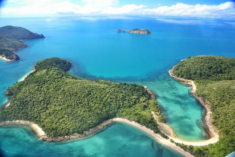 Whitsunday Island aerial