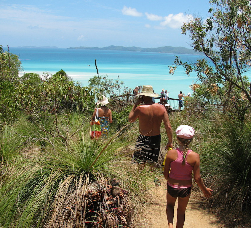 Walking at Hill Inlet family