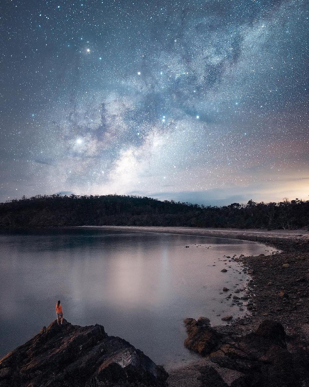 The Whitsundays by night