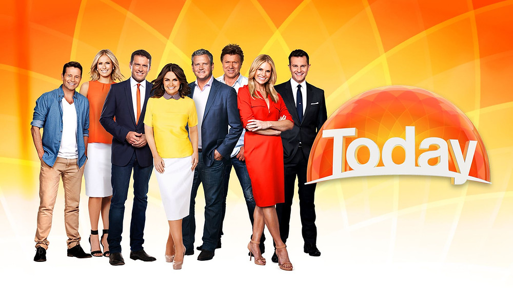 Today Show films live from Airlie Beach in the Whitsundays