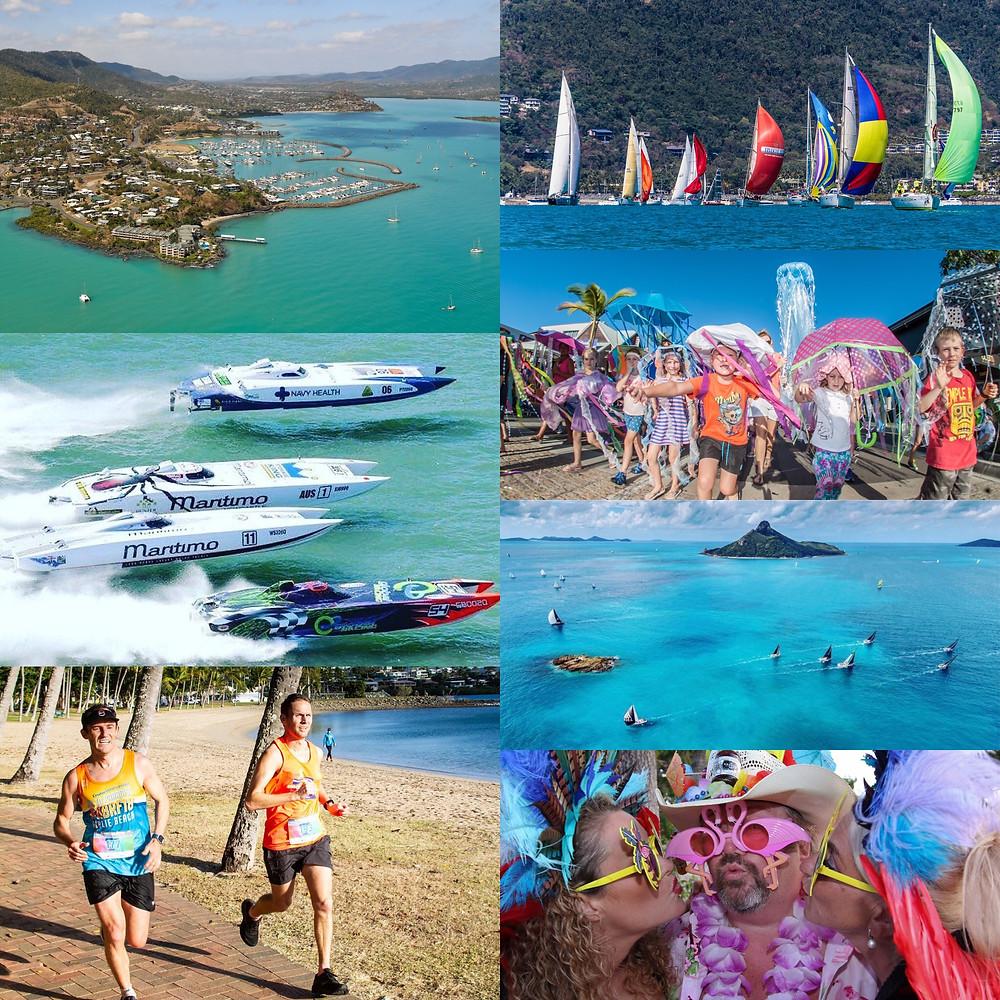 Go Bareboating in the Whitsundays events season