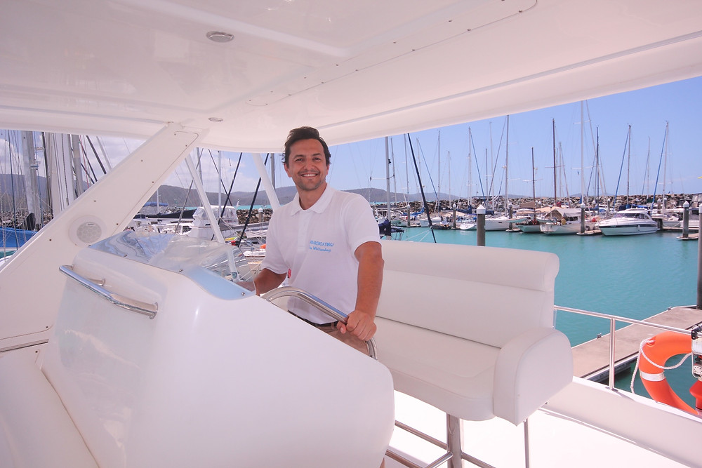 Chris Parsons for GoBareboating in the Whitsundays