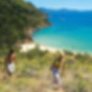 go bareboating. enjoy island bushwalks on uninhabited whitsunday islands