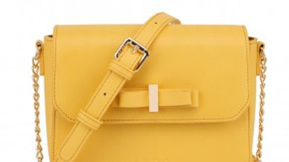 Gessy Yellow Crossbody Bag