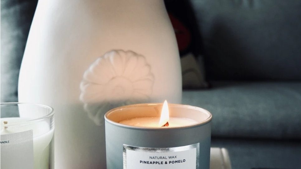 NJ Living Who Run This Mother? Natural Wax Candle in Pineapple & Pomelo