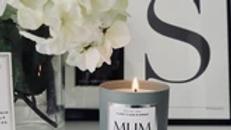 NJ Living Mum Boss Natural Wax Candle in Ylang Ylang & Amber