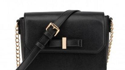 Gessy Black Crossbody Bag