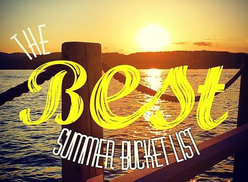 The Best Summer Bucket List