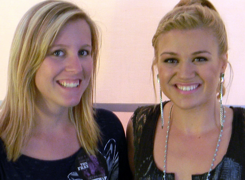 Meeting Kelly Clarkson