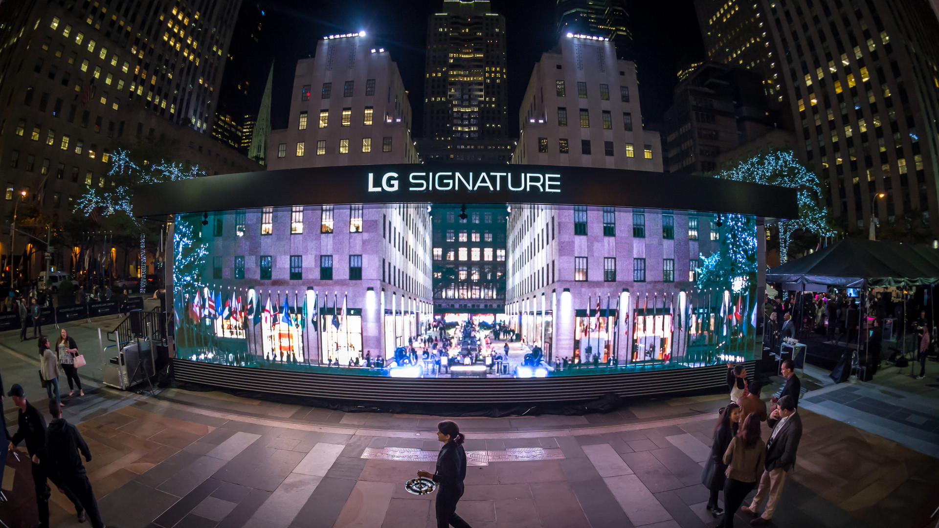 lg signature 'transparent house'.