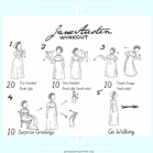 Get up and move: An exercise plan inspired by Jane Austen