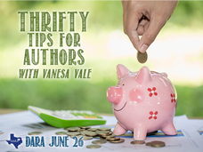 Thrifty Tips for Writers