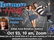 Humor & Heat -- Darynda Jones at October Meeting