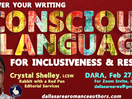Use Conscious Language for Inclusiveness & Respect