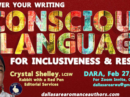 Feb 2021 -- Use Conscious Language for Respect