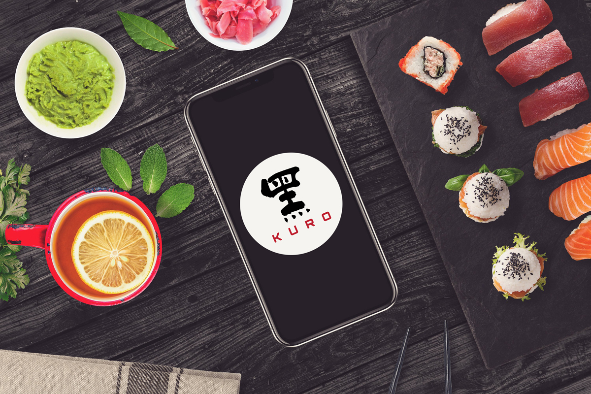 Kuro logo design