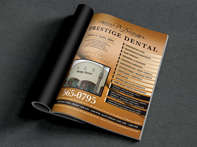 Prestige Dental Logo Design