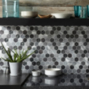 G30200 Colby Black Mix Glass & Metal Hexagon Mosaic_Detail.jpg