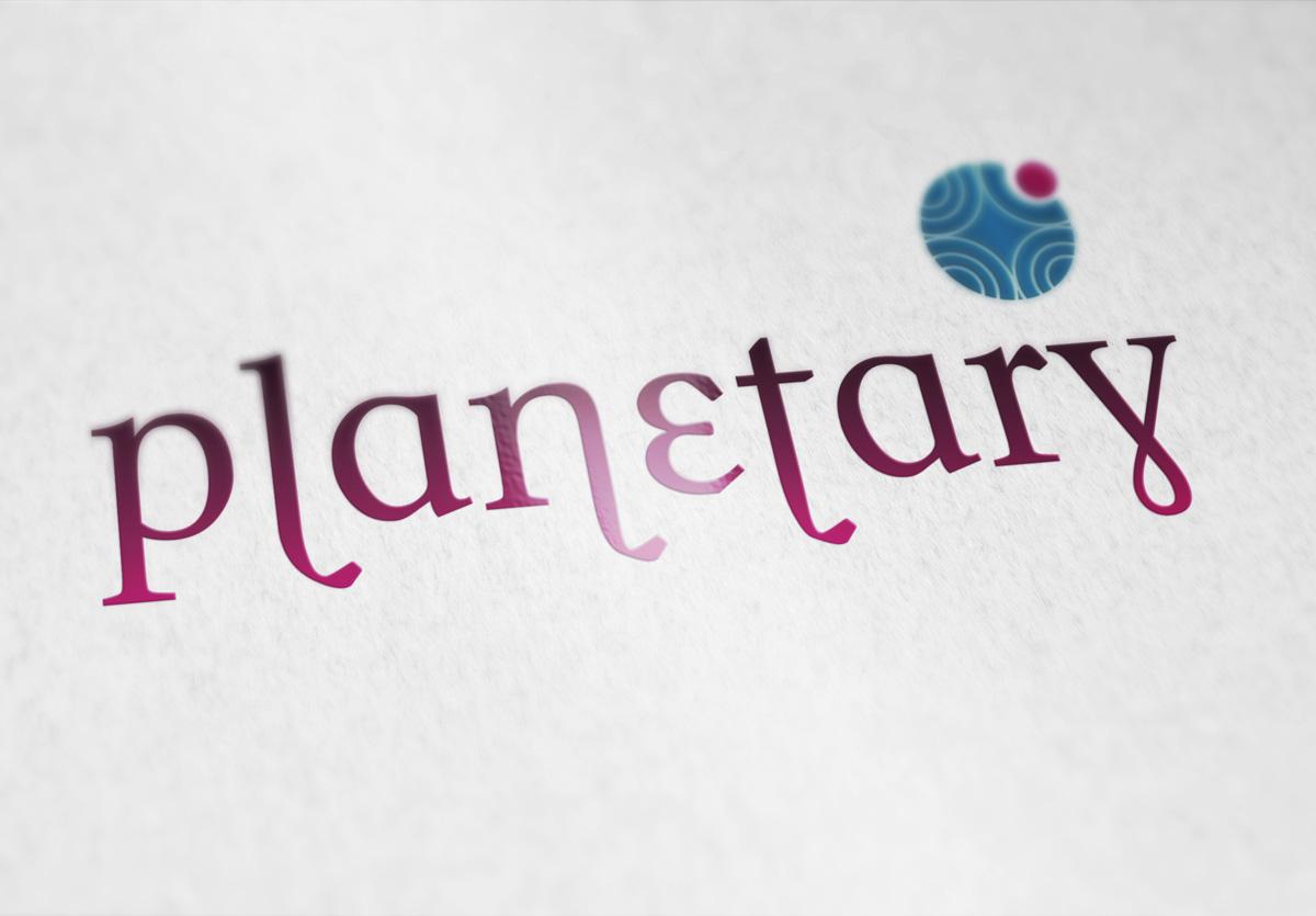 Planetary Logo Design